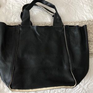 Leather bag from The Gap